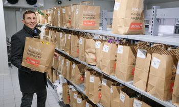 """""""Rimi"""" regi naudą e. prekybos prenumeratoje, verslo klientų segmente, kliausis maistomatais"""