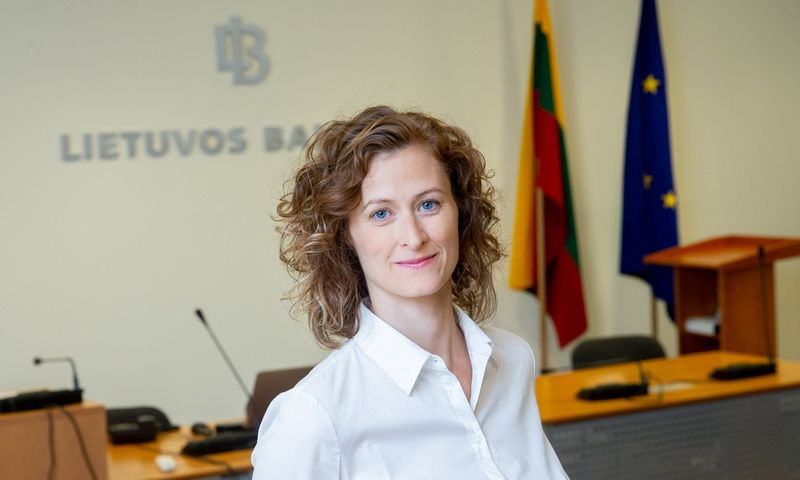 Kotryna Tamoševičienė, Lietuvos banko Ekonomikos departamento direktorė. Juditos Grigelytės (VŽ) nuotr.