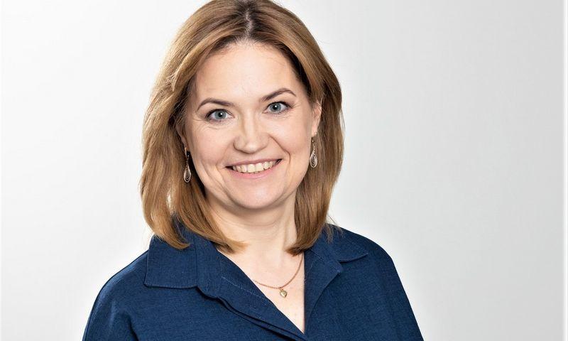 """Kristina Simonovič, Jungtinės centrinės kredito unijos """"Kreda"""" administracijos vadovė. Bendrovės nuotr."""