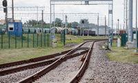 """M. Skuodis skubina """"RB Rail AS"""" darbus,latviai žada nevėluoti"""
