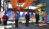 ES ir JAV pažadėjo suvienyti jėgas prekybos ir technologijų srityse