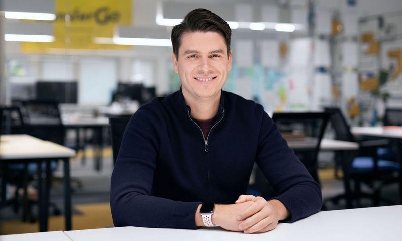 """Daumantas Dvilinskas, """"Transfergo"""" įkūrėjas. Bendrovės nuotr."""