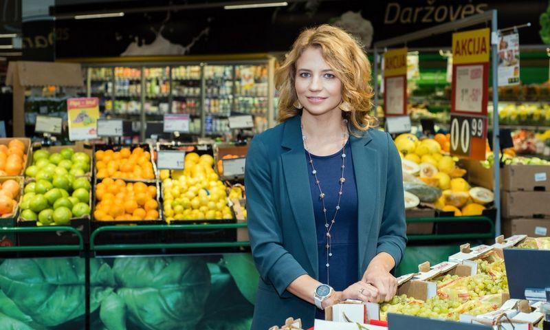 """Vaida Budrienė, prekybos tinklo """"Iki"""" komunikacijos vadovė."""