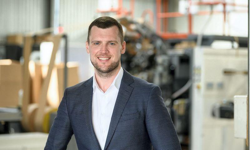 """Marius Rumbinas, UAB """"Bagfactory""""  bendraįkūrėjas, valdybos pirmininkas: """"Esame pirmieji pasaulyje, naudojantys tokią technologiją."""""""