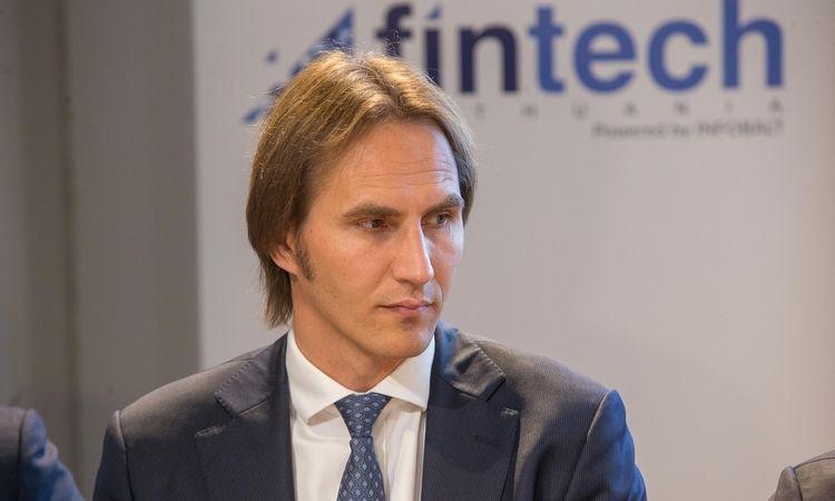 """Finansinių technologijų skatinimo grupės """"Fintech Lithuania"""" įkūrimo renginys. Vladimiro Ivanovo (VŽ) nuotr."""