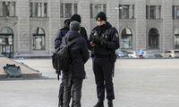 Po pranešimų internete apie šaudynes Minske sulaikyta dešimtys žmonių