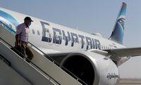 """Į Izraelį atskrido pirmasis oficialus """"EgyptAir"""" lėktuvas"""