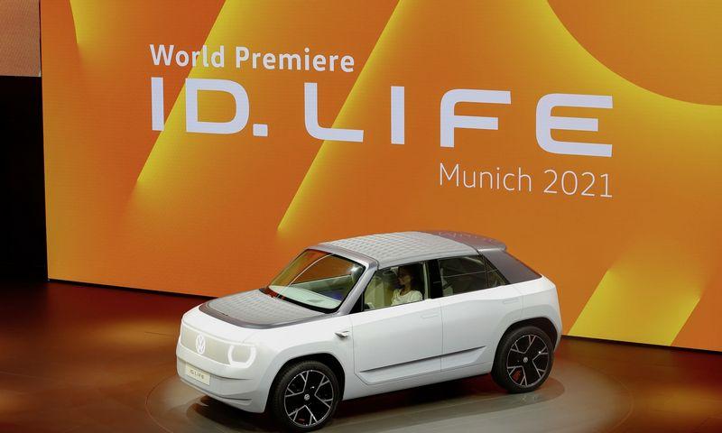 """""""Volkswagen ID. Life"""" prototipas žada palyginti žemas kainas mažų elektromobilių segmente. """"Volkswagen AG"""" nuotr."""