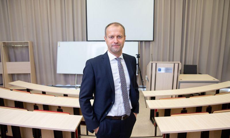 Dalius Misiūnas, ISM Vadybos ir ekonomikos universiteto rektorius. Juditos Grigelytės (VŽ) nuotr.