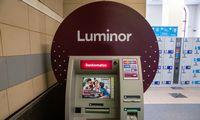 """Sutrikimai""""Luminor"""" bankomatųveikloje pašalinti"""