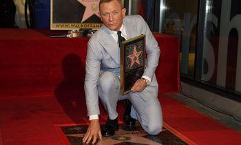 Holivudo šlovės alėjoje atidengta agento Bondo – D. Craigo žvaigždė