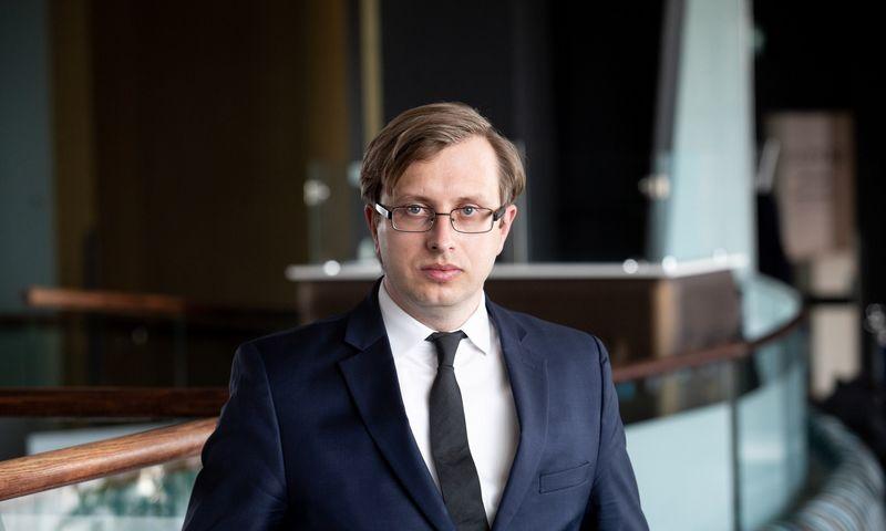 "Marius Žemaitis, ""Lords LB Asset Management"" fondų valdytojas. Juditos Grigelytės (VŽ) nuotr."