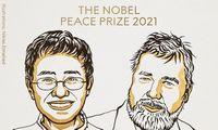 Nobelio taikos premija – žurnalistams Mariai Ressai ir Dmitrijui Muratovui