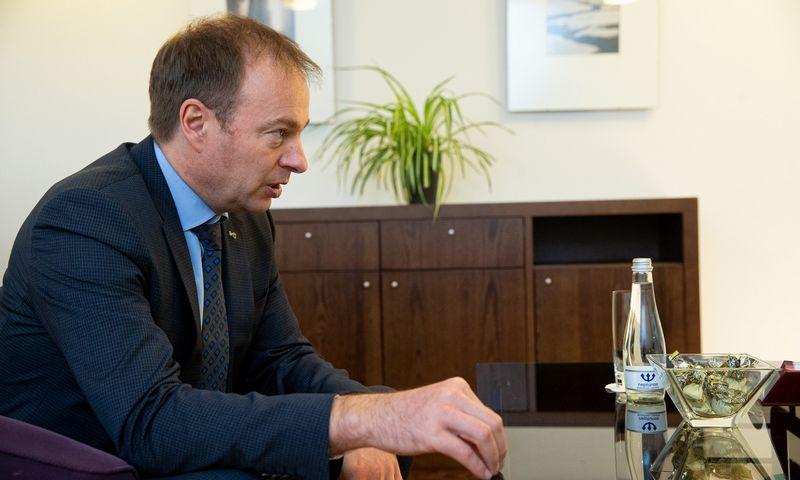 """Hando Sutteris, """"Eesti Energia"""" generalinis direktorius ir """"Enefit Green"""" Stebėtojų tarybos pirmininkas. Vladimiro Ivanovo (VŽ) nuotr."""