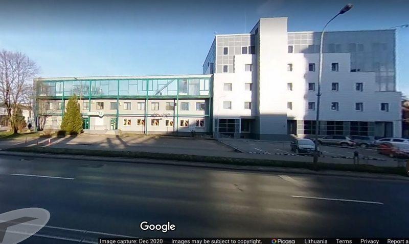 Rekonstruotas Muitinės kriminalinės tarnybos pastatas. Google atvaizdas.
