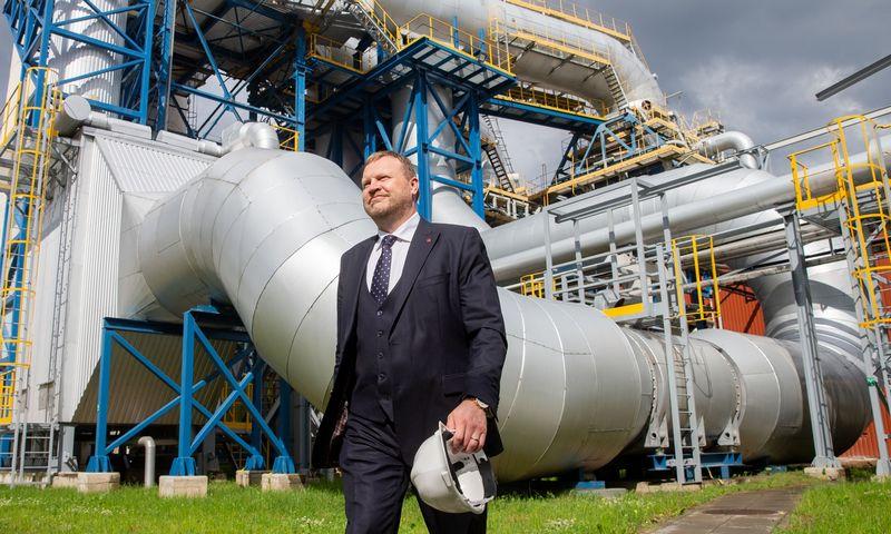 """Gerimantas Bakanas, """"Vilniaus šilumos tinklų"""" vadovas. Juditos Grigelytės (VŽ) nuotr."""