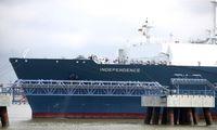 SkGD terminale – pirmasis dujovežis naujais dujų metais