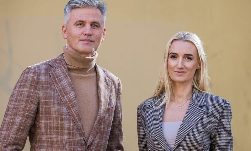 """Arvydas Žilinskas ir Giedrė Buivydienė, """"Proto vėtra"""" partneriai. Olgos Posaškovos ir Martyno Ambrazo nuotr."""