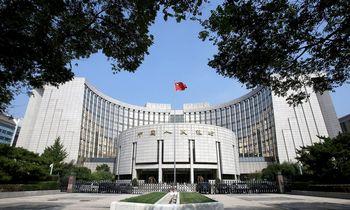 Kinijos centrinis bankas į šalies finansų sektorių pirmadienį įliejo 10 mlrd.CNY