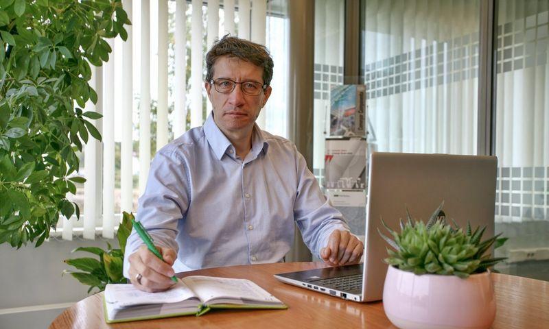 """Žilvinas Salatka, UAB """"PakMarkas"""" produkto vadovas."""