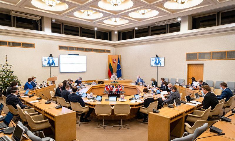 Vyriausybė svarstys kitų metų biudžeto projektą ir perduos jį Seimui priimti. Dariaus Janučio (LRVK) nuotr.