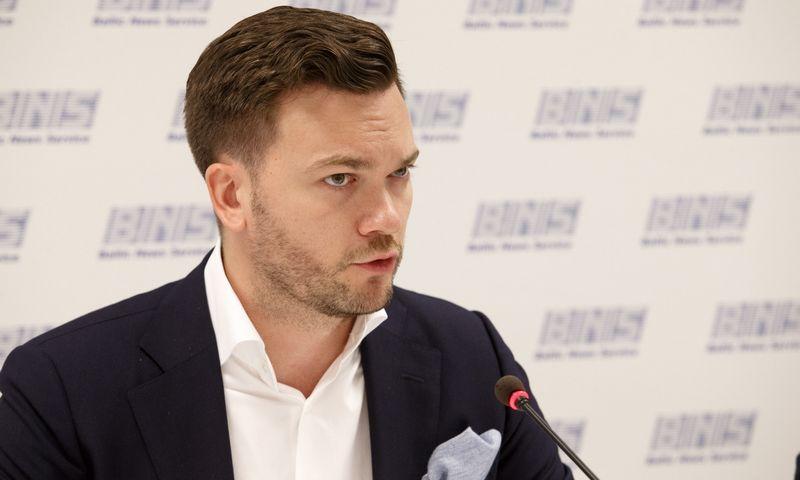 """Mažvydas Šileika, AB """"Linas Agro Group"""" finansų direktorius. Juditos Grigelytės (VŽ) nuotr."""