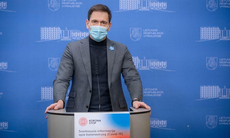 Dainius Kreivys, energetikos ministras. Dariaus Janučio (LRVK) nuotr.
