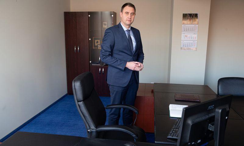 Valdas Kaubrė, Valstybinių miškų urėdijos direktoruis. Vladimiro Ivanovo (VŽ) nuotr.