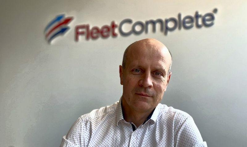 "Dainius Kerevičius, UAB ""Fleet Complete Lietuva"" projektų vadovas."