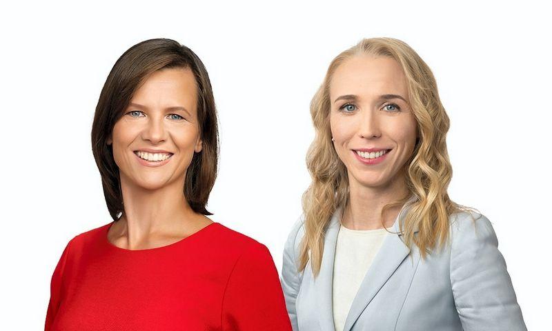 """Eglė Kontautaitė, """"Ellex Valiunas"""" ekspertė ir Neringa Mickevičiūtė, """"Ellex Valiunas"""" asocijuotoji partnerė."""