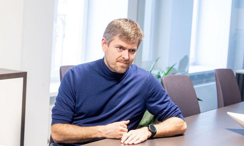 """Ilja Laursas, """"Nextury Asia Technology Fund"""" investuotojas. Juditos Grigelytės (VŽ) nuotr."""