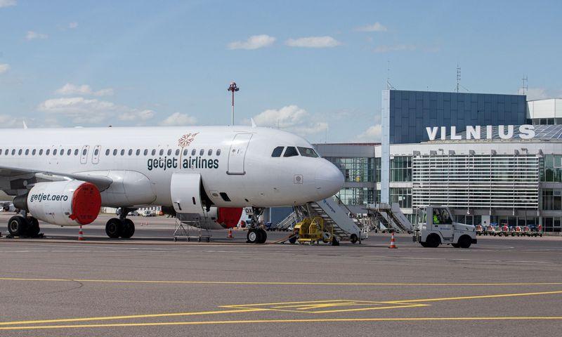 Tarptautinis Vilniaus oro uostas karantino metu. Juditos Grigelytės (VŽ) nuotr.