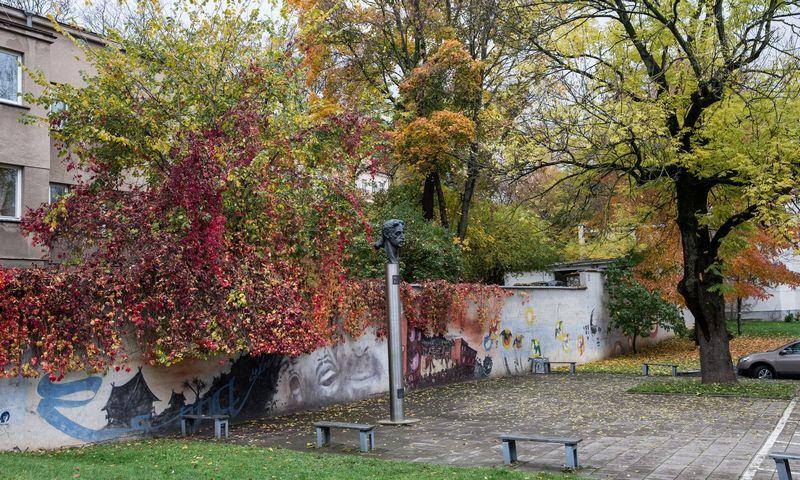 Paminklas Frankui Zappai Vilniuje. Juditos Grigelytės (VŽ) nuotr.