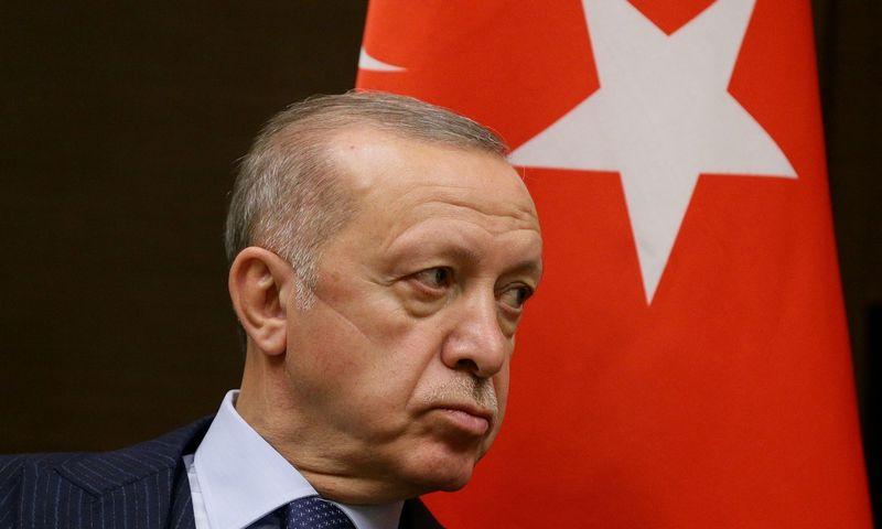 """Recepas Tayyipas Erdoganas, Turkijos prezidentas.  Vladimir Smirnov (""""Reuters"""" / """"Scanpix"""") nuotr."""