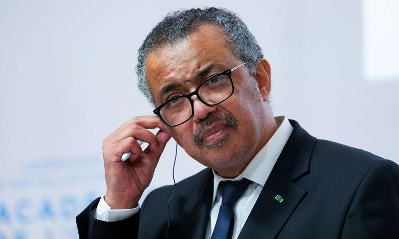 "PSO vadovas Tedrosas Adhanomas Ghebreyesusas. Denis Balibouse (""Reuters"" / ""Scvanpix"") nuotr."
