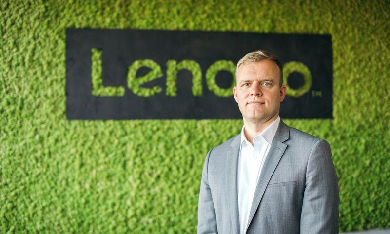Lenovo atstovybės Baltijos šalyse vadovas Audrius Klimaitis.