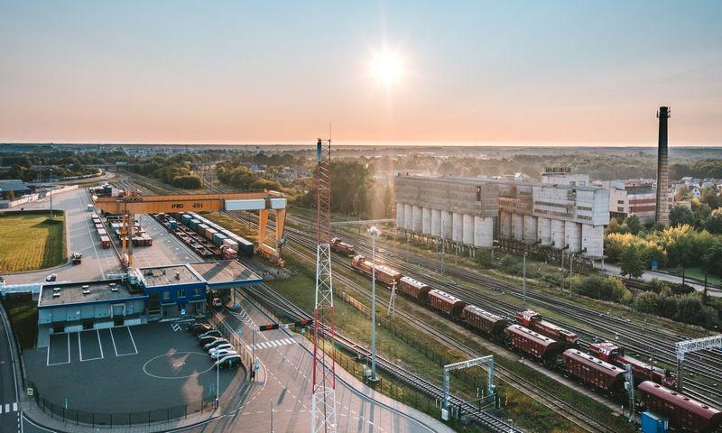 """Kauno intermodalinio terminalo atidarymas komerciniam eismui """"Rail Baltica"""" geležinkeliu– tik galimybių pradžia verslui. Andriaus Aleksandravičiaus/""""Kaunas IN"""" nuotr."""