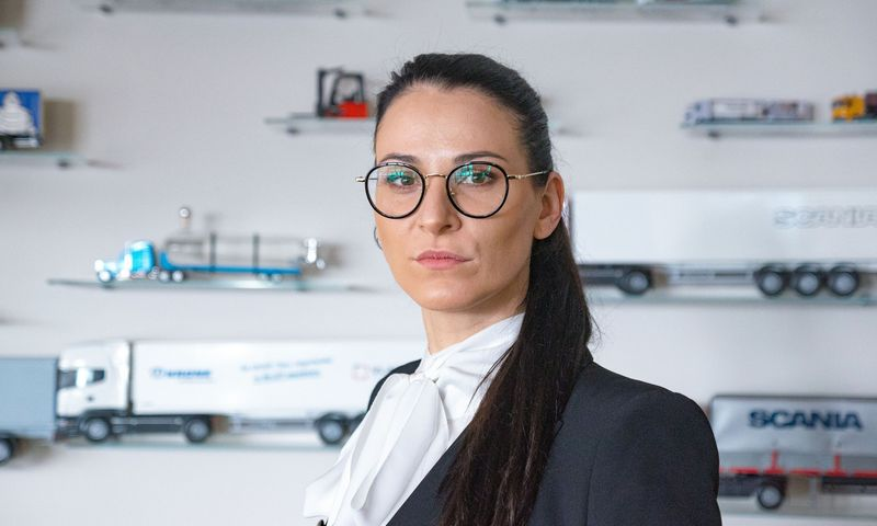 """Sabina Chochrina, UAB """"Vlantana"""" direktorė. Algimanto Kalvaičio nuotr."""