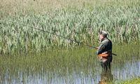 Savaitgalį baigiasi lašišų ir šlakių žvejybos sezonas