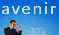 E. Macrono milijardiniai inovacijų planai prancūzų nesužavėjo: vadina rinkiminio pasirodymo dalimi