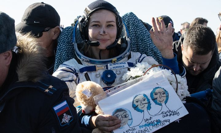 Filmavimo misijos kosmose vertinimai: ten nėra vietos menininkams ir turistams