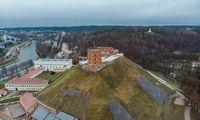 Nacionalinis muziejus: laukiant nepalankių orų, Gedimino kalnas nuolat stebimas