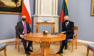 Šią savaitę: A. Duda Lietuvoje, diskusijos dėl naujo poligono, ES lyderiai apie kainas