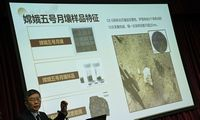 Kinija: uolienos iš Mėnulio suteikia naujų žinių apie vulkaninę veiklą