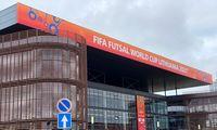 FIFA pasaulio salės futbolo čempionato įvaizdžio kampanija: ekstremalų iššūkį padėjo įveikti renginio svarba ir meilė futbolui