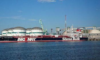 Klaipėdos uosto ir Būtingėsterminalo krova toliau mažėja