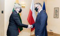 I. Šimonytė: vykdysime įsipareigojimą saugoti rytinę ES sieną