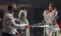 Egipte sulaikyta šnipinėjimu įtarta robotė-menininkė Ai-Da