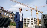 """""""Eika"""" Vilniaus centre pradėjo aukščiausio savo pastato statybas"""