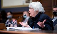 J. Yellen: infliacija JAV turėtų stabilizuotis antroje 2022 m. pusėje